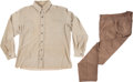 """Movie/TV Memorabilia:Costumes, A John Wayne Costume from """"The Undefeated.""""..."""