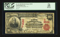 National Bank Notes:Virginia, Roanoke, VA - $10 1902 Red Seal Fr. 614 The City NB Ch. # (S)8152....