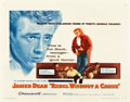 "Movie Posters:Drama, Rebel without a Cause (Warner Brothers, 1955). Half Sheet (22"" X28"").. ..."