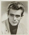 "Movie Posters:Miscellaneous, James Dean (1950s). Trimmed Autographed Portrait Photo (8"" X 9.5"").Miscellaneous.. ..."