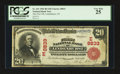 National Bank Notes:New York, Lindenhurst, NY - $20 1902 Red Seal Fr. 641 The First NB Ch. #(E)8833. ...
