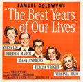 """Movie Posters:Drama, The Best Years of Our Lives (RKO, 1946). Six Sheet (81"""" X 82"""").. ..."""
