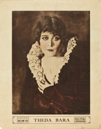 """Theda Bara (Fox, 1916). Personality Poster (22"""" X 28"""")"""