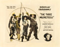 """Movie Posters:Swashbuckler, The Three Musketeers (United Artists, 1921). Half Sheet (22"""" X28"""").. ..."""