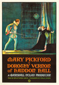 "Movie Posters:Drama, Dorothy Vernon of Haddon Hall (United Artists, 1924). One Sheet(27"" X 41"").. ..."