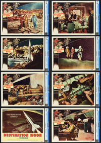 "Destination Moon (Pathé, 1950). CGC Graded Lobby Card Set of 8 (11"" X 14""). ... (Total: 8 Items)"