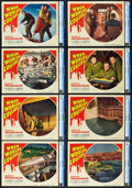 """Movie Posters:Science Fiction, When Worlds Collide (Paramount, 1951). CGC Graded Lobby Card Set of8 (11"""" X 14"""").. ... (Total: 8 Items)"""