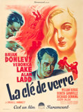 "Movie Posters:Film Noir, The Glass Key (Paramount, 1948). First Post-War Release FrenchGrande (47"" X 63"").. ..."