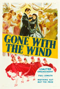 "Movie Posters:Academy Award Winners, Gone with the Wind (MGM, 1939). One Sheet (27"" X 41"") Style DP....."