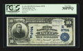 National Bank Notes:New York, Islip, NY - $10 1902 Plain Back Fr. 626 The First NB Ch. # (E)8794....