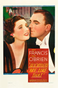 "Movie Posters:Drama, Women Are Like That (Warner Brothers, 1938). One Sheet (27"" X41"").. ..."