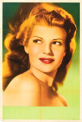 "Movie Posters:Miscellaneous, Rita Hayworth Personality Poster (Columbia, 1940s). ArgentineanPoster (29"" X 43"").. ..."