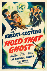 "Hold That Ghost (Universal, 1941). One Sheet (27"" X 41"")"