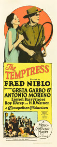"Movie Posters:Drama, The Temptress (MGM, 1926). Insert (14"" X 36"").. ..."
