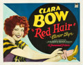 "Movie Posters:Comedy, Red Hair (Paramount, 1928). Half Sheet (22"" X 28"") Style A.. ..."