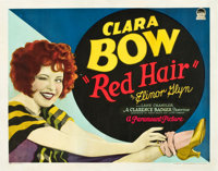 "Red Hair (Paramount, 1928). Half Sheet (22"" X 28"") Style A"