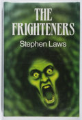 Books:Horror & Supernatural, Stephen Laws. SIGNED. The Frighteners. Souvenir, 1990. Firstedition, first printing. Signed by the author. ...