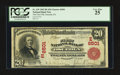 National Bank Notes:Pennsylvania, Osceola Mills, PA - $20 1902 Red Seal Fr. 639 The First NB Ch. # (E)6501. ...