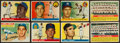 Baseball Cards:Lots, 1955 and 1956 Topps Baseball Rookies & Stars Collection (8)....