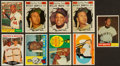 Baseball Cards:Lots, 1960 and 1961 Topps Baseball Star Collection (10) With Mantles. ...