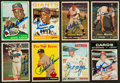 Autographs:Sports Cards, 1957 - 1971 Topps Autographs Rookie and Stars Collection (8). ...