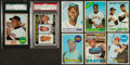 Baseball Cards:Lots, 1966 - 1969 Topps Baseball Rookie And Star Collection (17). ...