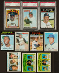 Baseball Cards:Lots, 1970 - 1973 Topps Baseball Rookie And Star Collection (10)....