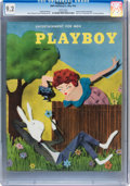 Magazines:Vintage, Playboy #6 (HMH Publishing, 1954) CGC NM- 9.2 White pages....