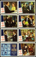 """Movie Posters:Drama, Flesh and Fantasy (Universal, 1943). Lobby Card Set of 8 (11"""" X14"""").. ... (Total: 8 Items)"""