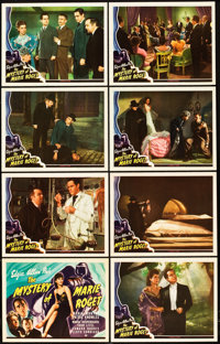 """The Mystery of Marie Roget (Universal, 1942). Lobby Card Set of 8 (11"""" X 14""""). ... (Total: 9 Items)"""