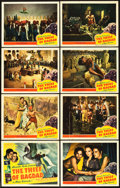 "Movie Posters:Fantasy, The Thief of Bagdad (United Artists, 1940). Lobby Card Set of 8(11"" X 14"").. ... (Total: 8 Items)"