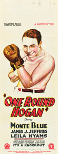 "Movie Posters:Sports, One-Round Hogan (Warner Brothers, 1927). Pre-War Australian Daybill(15"" X 40"").. ..."