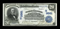 National Bank Notes:Kentucky, Maysville, KY - $20 1902 Date Back Fr. 644 The Bank of MaysvilleNational Banking Association Ch. # (S)9561. ...
