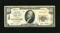 National Bank Notes:Kentucky, Ashland, KY - $10 1929 Ty. 1 The Second NB Ch. # 3944. This bankfinally shed this title in 1980 and now it is part of C...