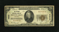 National Bank Notes:Kentucky, Bowling Green, KY - $20 1929 Ty. 1 The Citizens NB Ch. # 5900. Thisexample was a souvenir wallet piece for some time be...