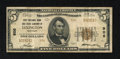 National Bank Notes:Kentucky, Lexington, KY - $5 1929 Ty. 2 The First & City NB Ch. # 906.This snappy Very Good-Fine $5 is in the census but with...