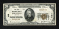 National Bank Notes:Kentucky, Louisville, KY - $20 1929 Ty. 1 The First NB Ch. # 109. This is thefirst time for us to have a note from this type and ...