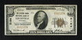 National Bank Notes:Kentucky, Louisville, KY - $10 1929 Ty. 1 The Citizens NB Ch. # 2164. This isa bright note with natural paper ripple. Very Fine...