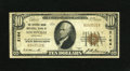 National Bank Notes:Kentucky, Louisville, KY - $10 1929 Ty. 1 The Citizens Union NB Ch. # 2164.Officers are E.T. Meriwether and J.R. Dorning. Fine....