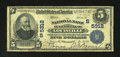 National Bank Notes:Kentucky, Louisville, KY - $5 1902 Plain Back Fr. 607 The NB of Kentucky Ch.# (S)5312. The signatures of C.F. Jones and J.B. Bro...