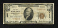 National Bank Notes:Kentucky, Pikeville, KY - $10 1929 Ty. 1 The First NB Ch. # 6622. CashierJohn M. Yost served more than one president. Very Good...