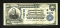 National Bank Notes:Pennsylvania, Brookville, PA - $10 1902 Date Back Fr. 632 The Jefferson County NB Ch. # (E)2392. While there are about a dozen and a h...