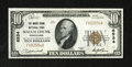 National Bank Notes:Pennsylvania, Mauch Chunk, PA - $10 1929 Ty. 1 The Mauch Chunk NB Ch. # 6534. In 1954 Mauch Chunk changed its name to Jim Thorpe, Penn...