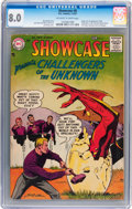 Silver Age (1956-1969):Superhero, Showcase #6 Challengers of the Unknown (DC, 1957) CGC VF 8.0Off-white to white pages....