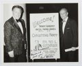 Autographs:Celebrities, Inscribed Photograph to Ted Gunderson, Former Head of the FBI inLos Angeles. Approx. 8 x 10 inches. Fine....