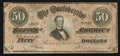 Confederate Notes:1864 Issues, T66 $50 1864 PF-6.. ...