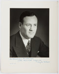 Autographs:Statesmen, Clyde Tolson (1900-1975, Associate Director of the Federal Bureauof Investigation). Photograph Mounted to Signed and Inscribe...