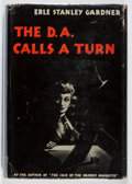 Books:Mystery & Detective Fiction, Erle Stanley Gardner. The D.A. Calls a Turn. Morrow, 1944.First edition, first printing. Slight lean. Toning. Light...