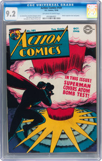 Action Comics #101 (DC, 1946) CGC NM- 9.2 Off-white to white pages
