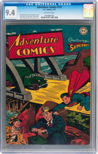 Adventure Comics #112 (DC, 1947) CGC NM 9.4 Off-white pages